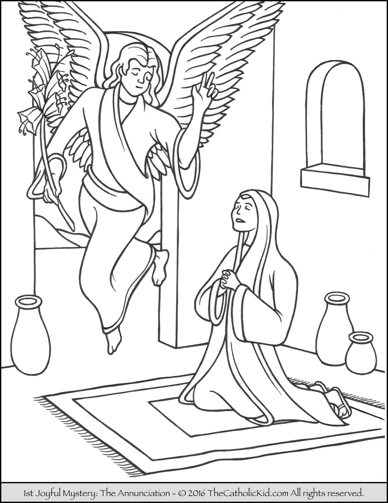 Angel Gabriel Drawing At Getdrawings