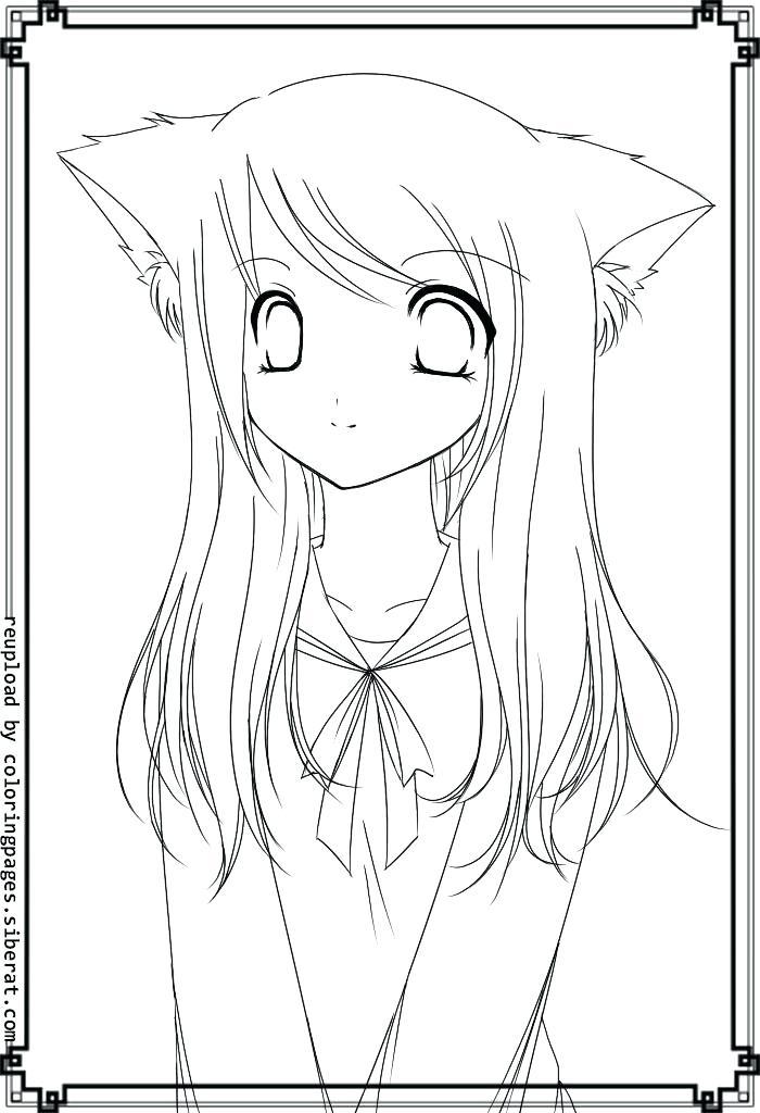 Anime Cat Girl Template