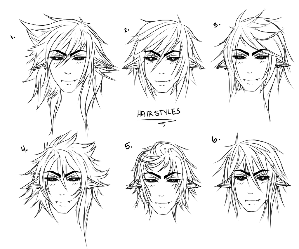 Anime male hair drawing at getdrawings free for personal use rh getdrawings anime guys