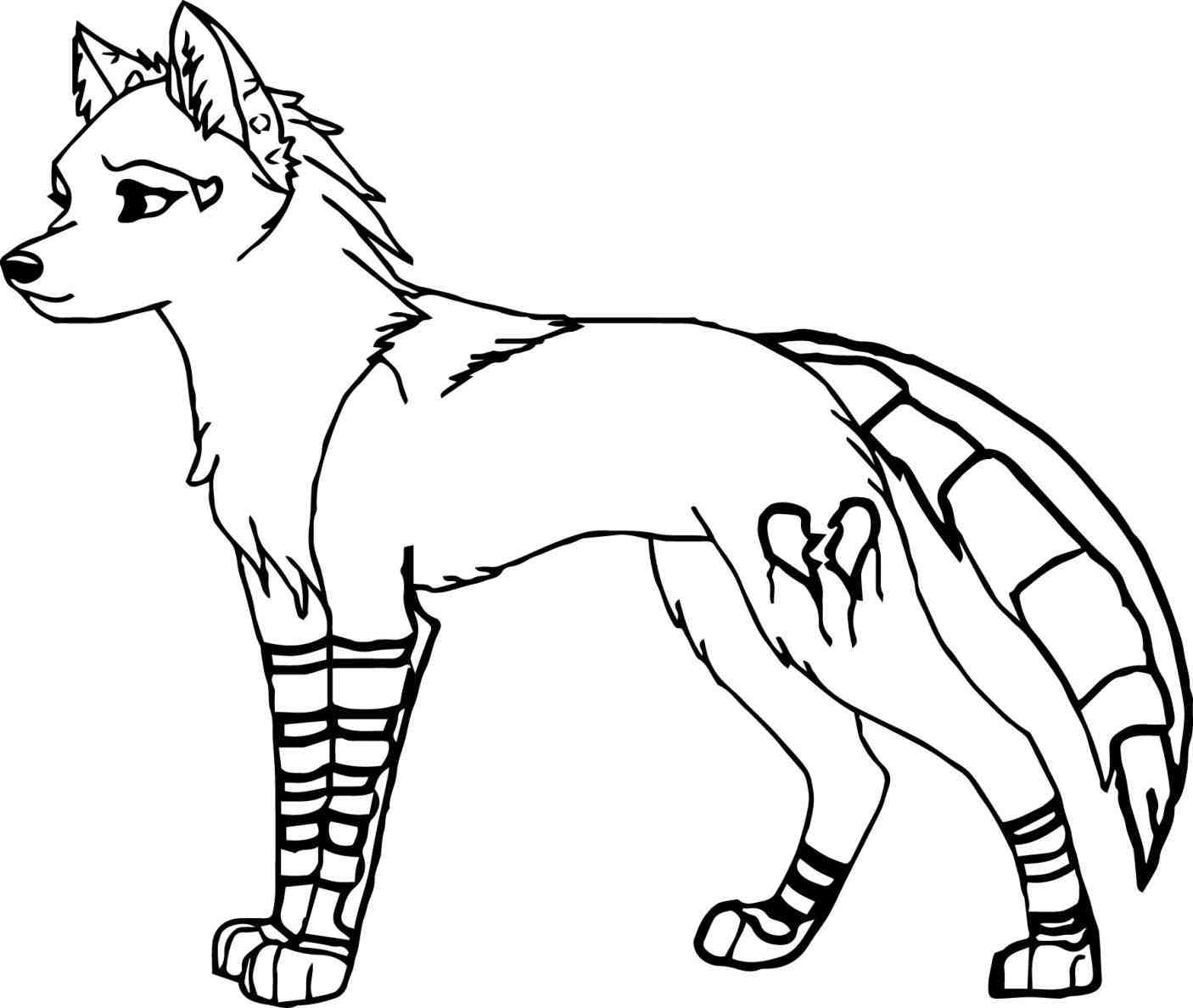 Anime Wolves Drawing At Getdrawings Free Download