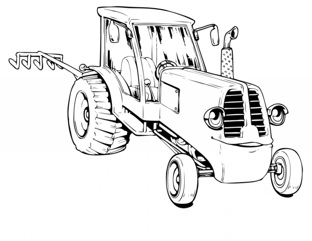Antique Tractor Drawing At Getdrawings