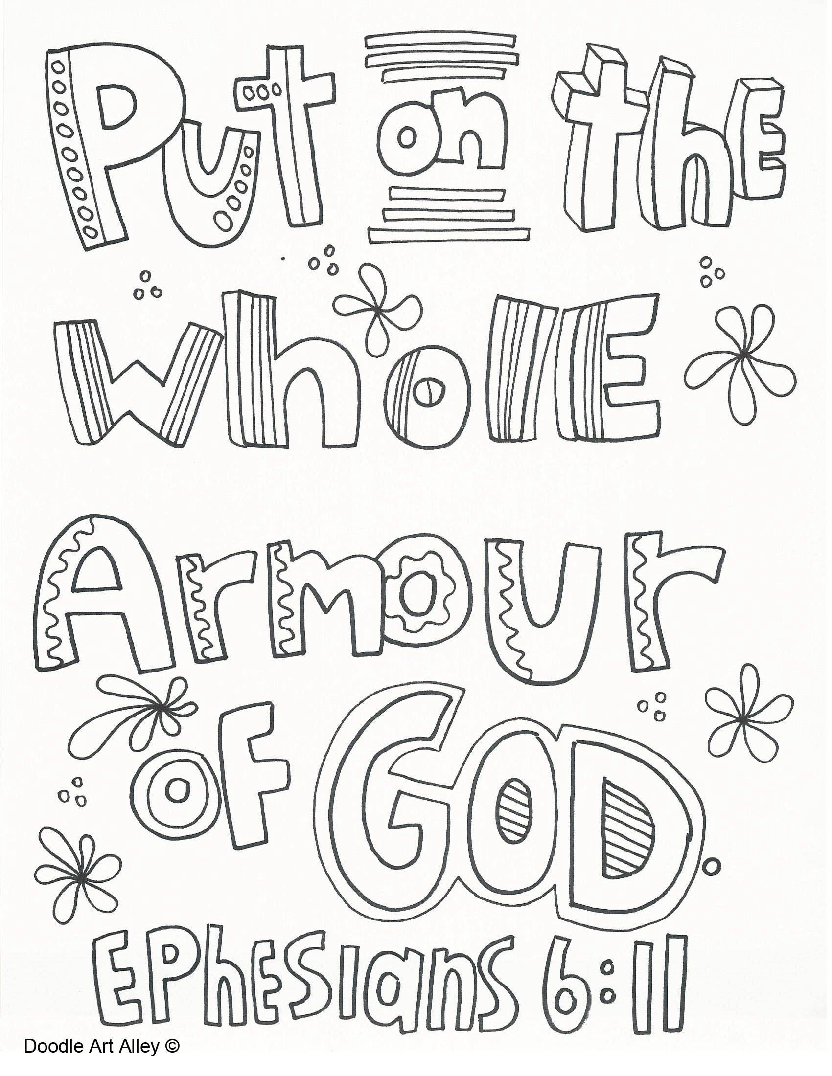 Armour Of God Drawing At Getdrawings