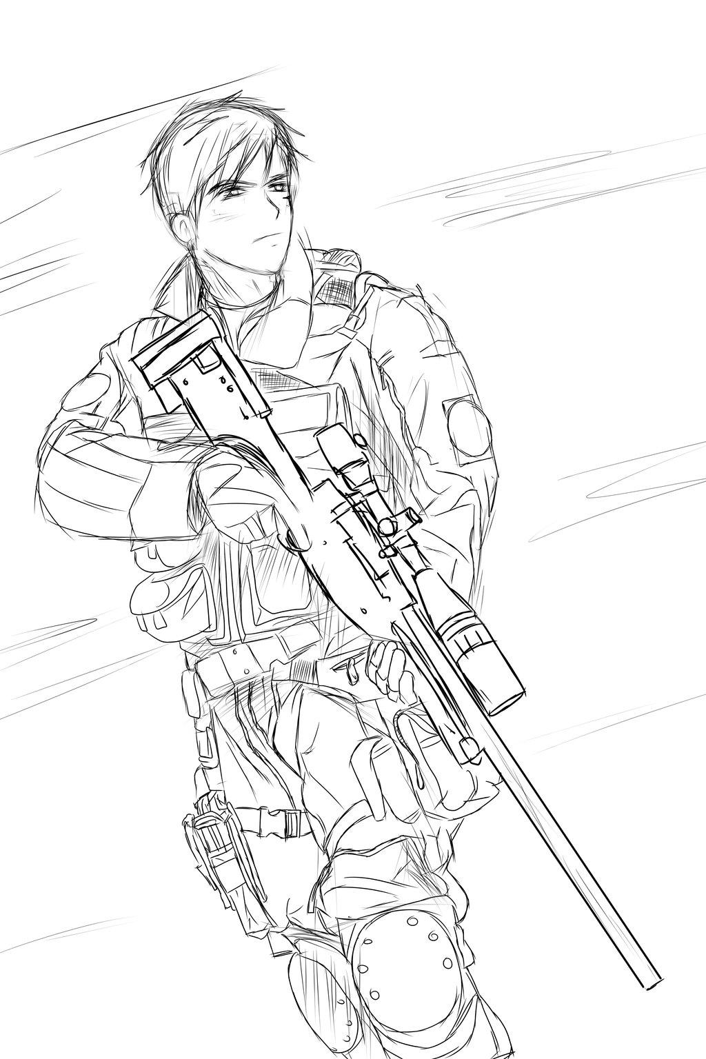 Army Sol R Drawing At Getdrawings
