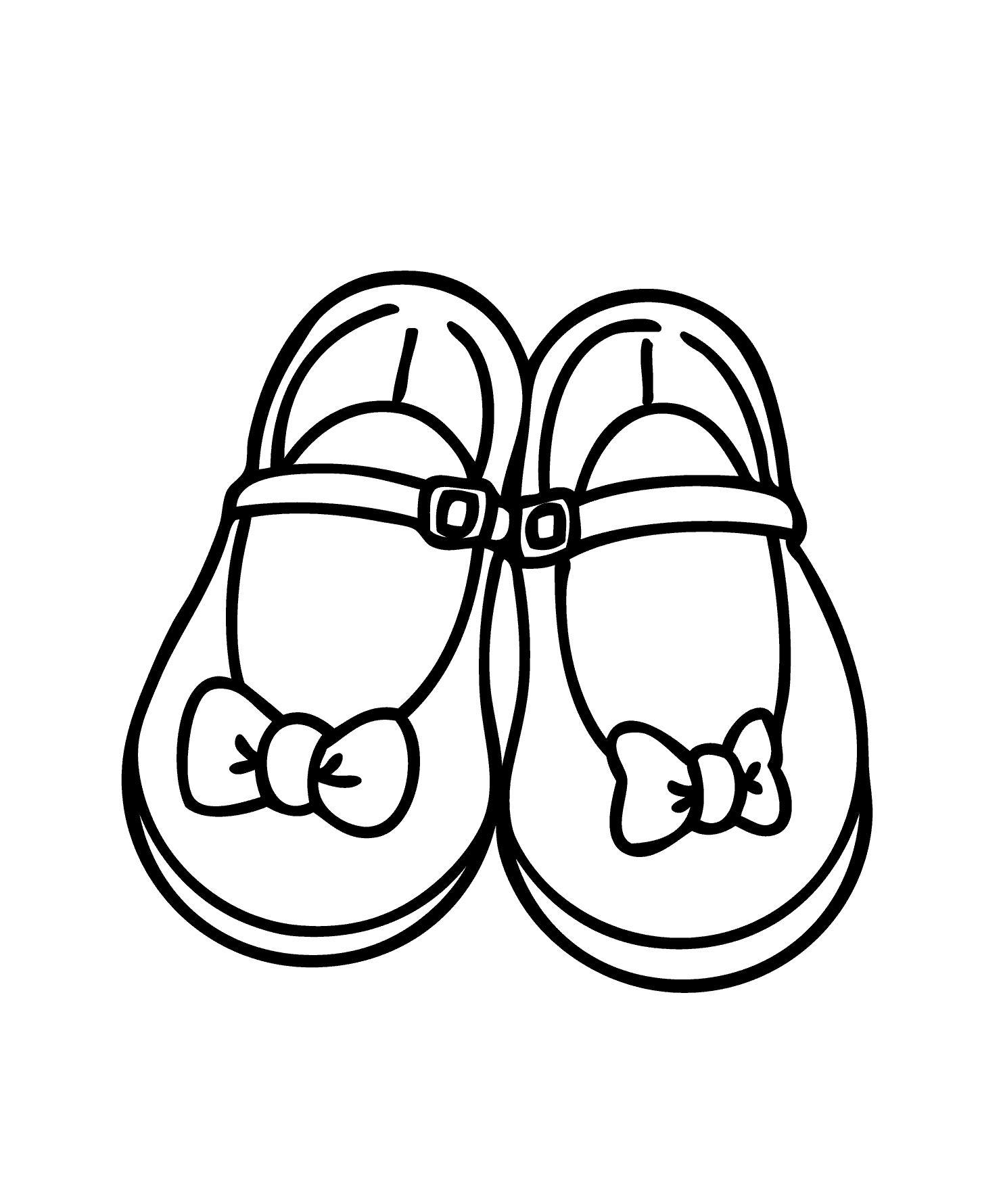 Baby Booties Drawing At Getdrawings