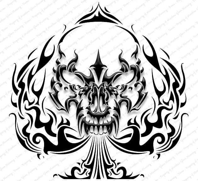 badass skull drawing at getdrawings  free download