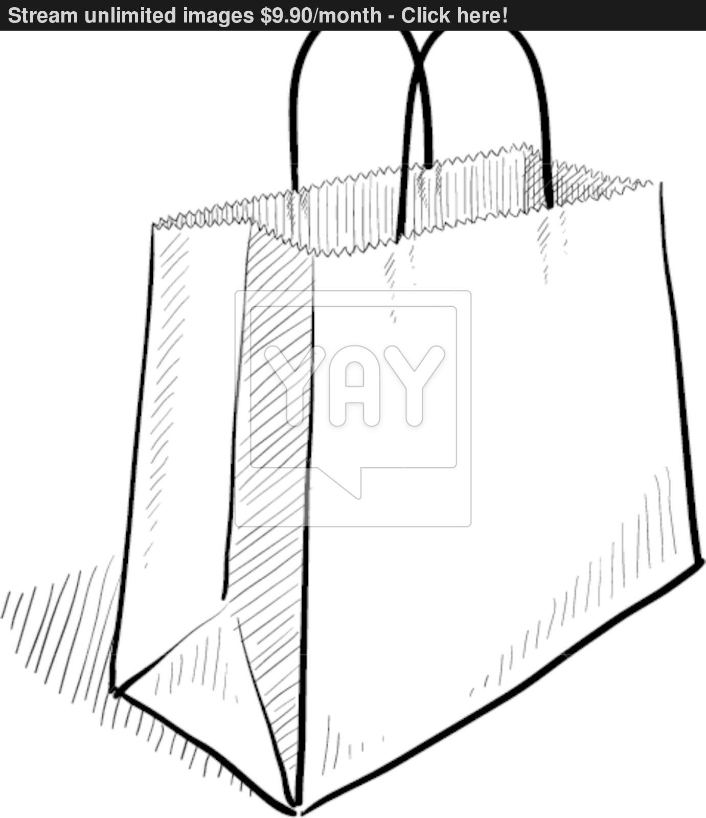 Bags Drawing At Getdrawings