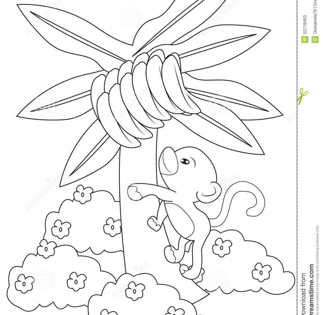 Banana Bunch Drawing At Getdrawings