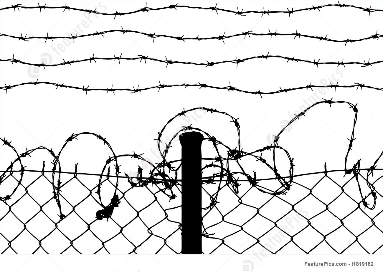Barb Wire Drawing At Getdrawings