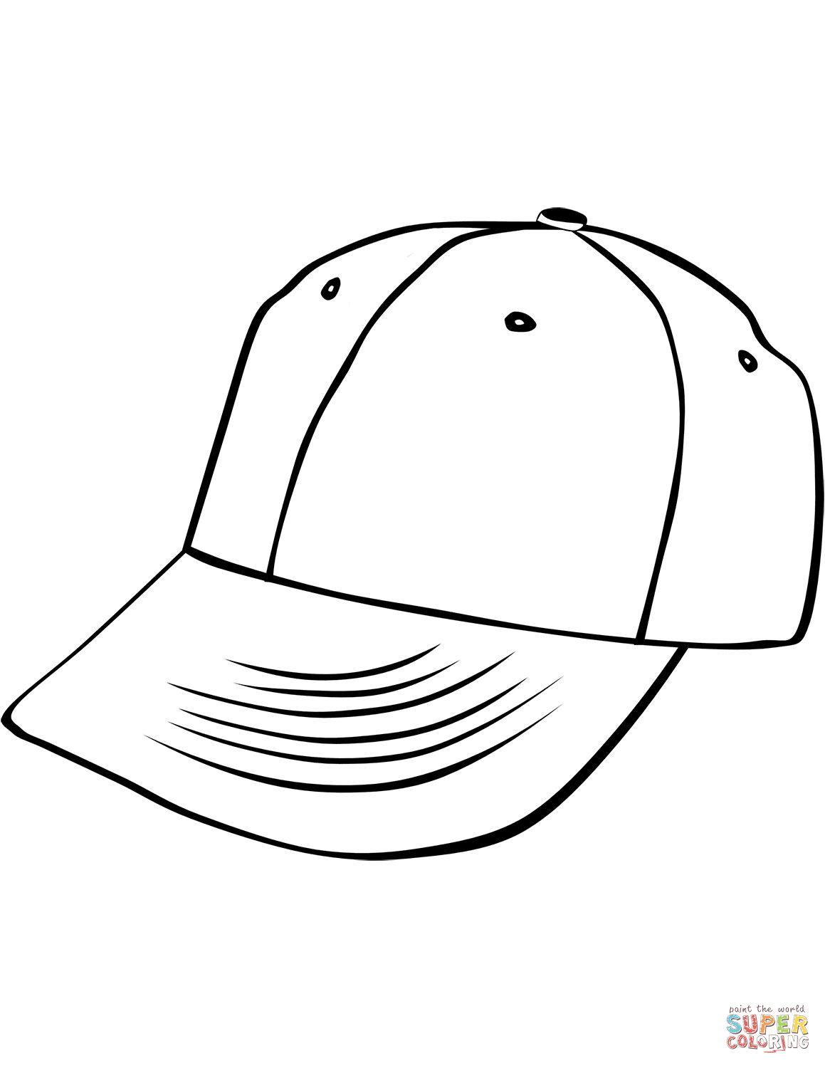 Baseball Cap Drawing At Getdrawings