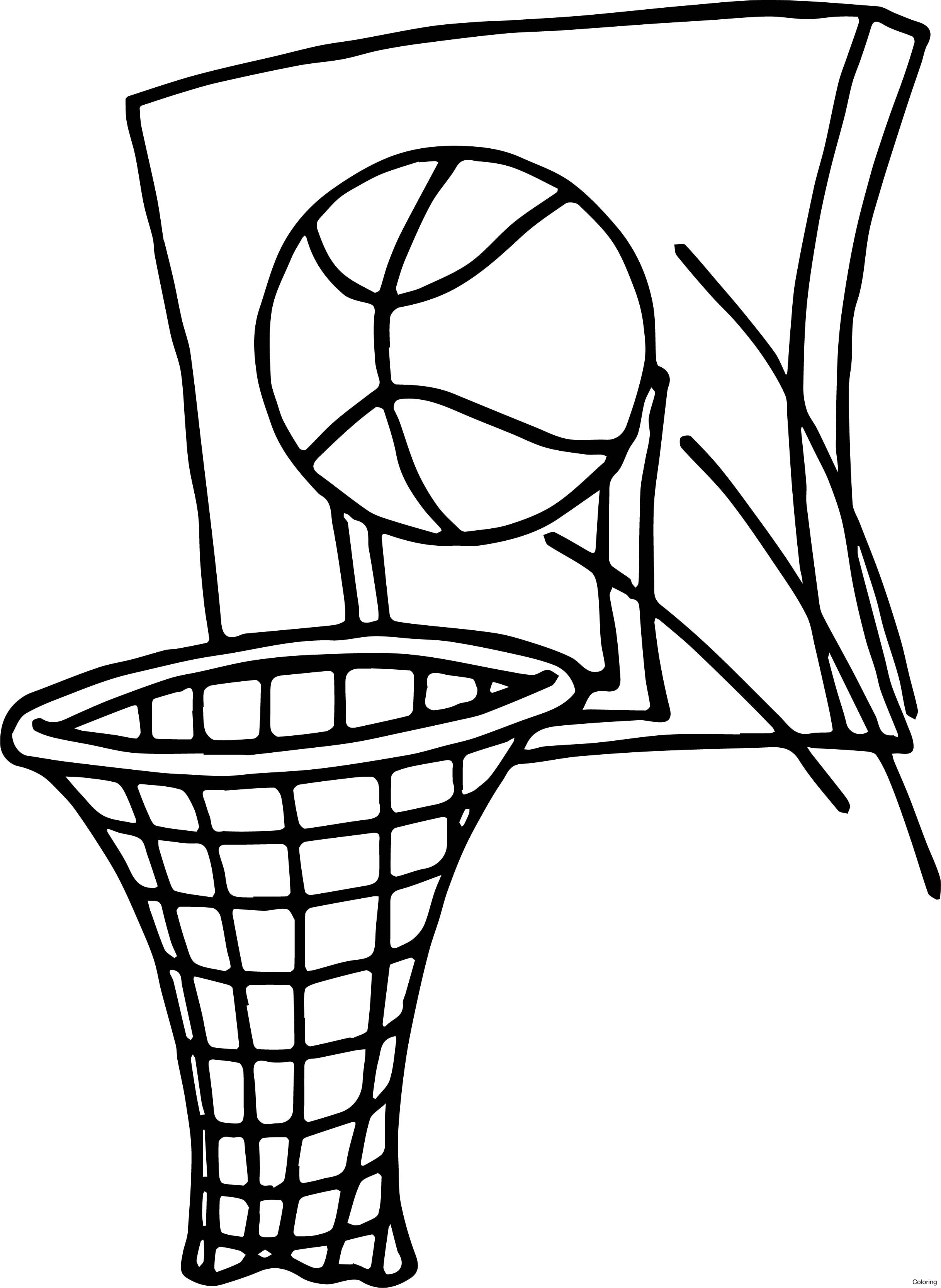 Basketball Ball Drawing At Getdrawings