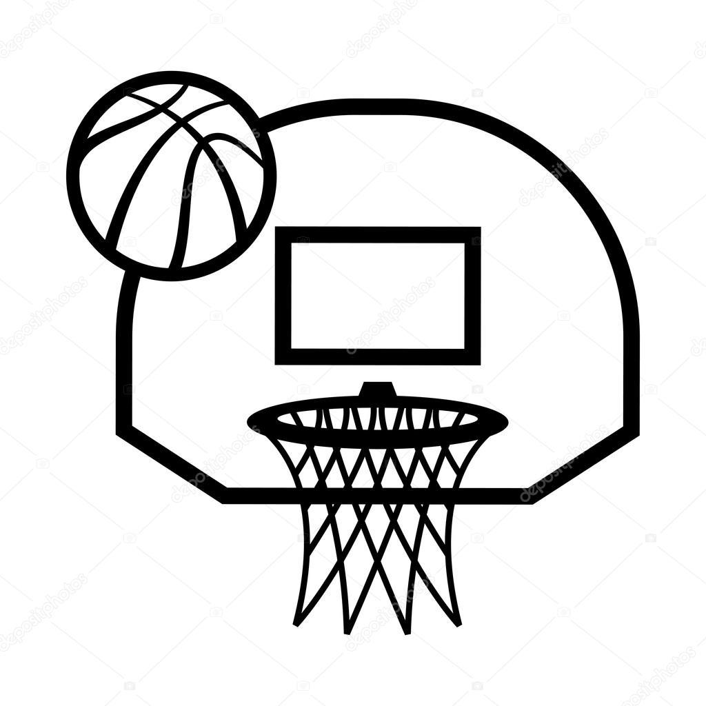 Basketball Hoop Drawing At Getdrawings