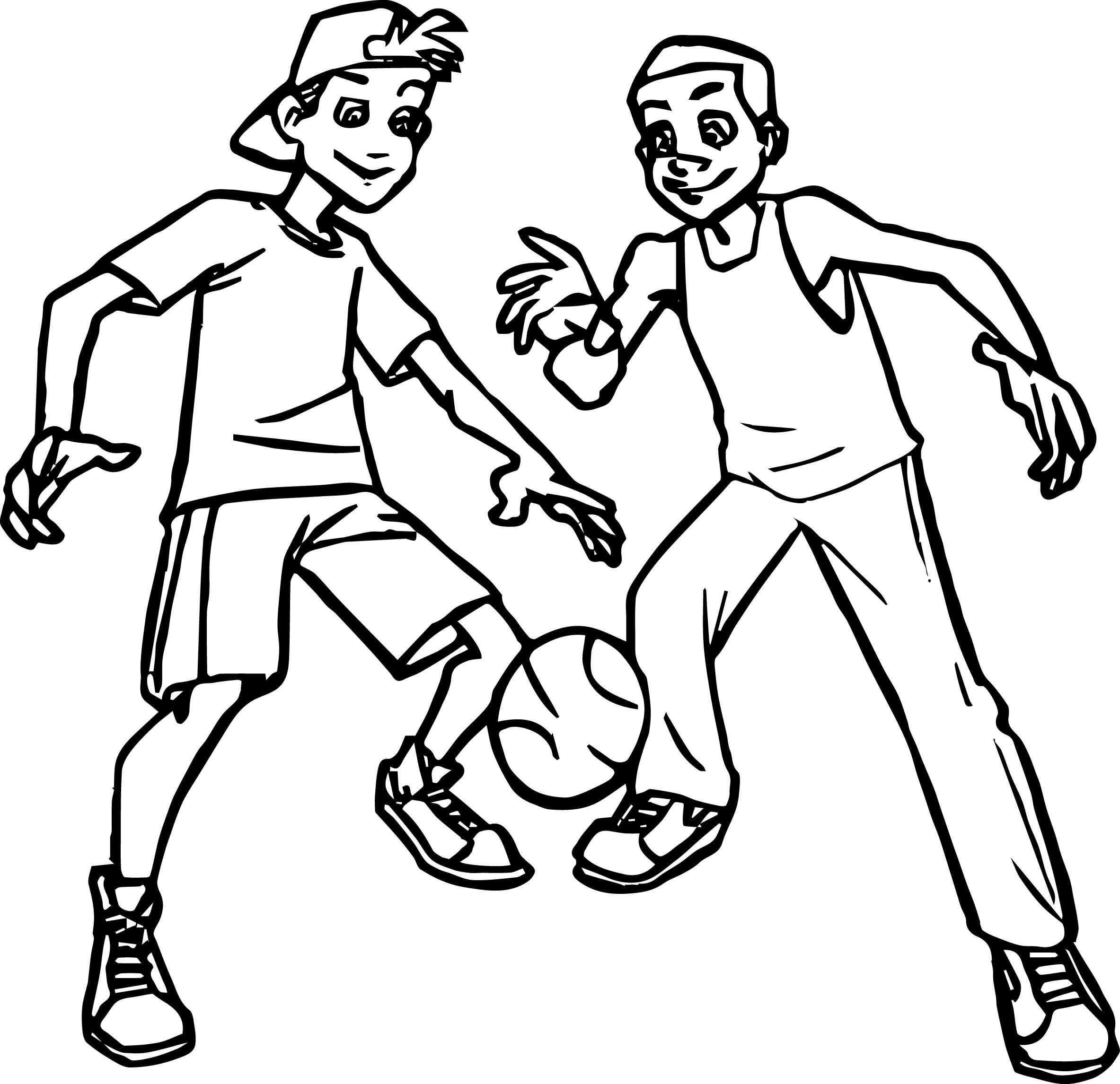 Basketball Players Drawing At Getdrawings