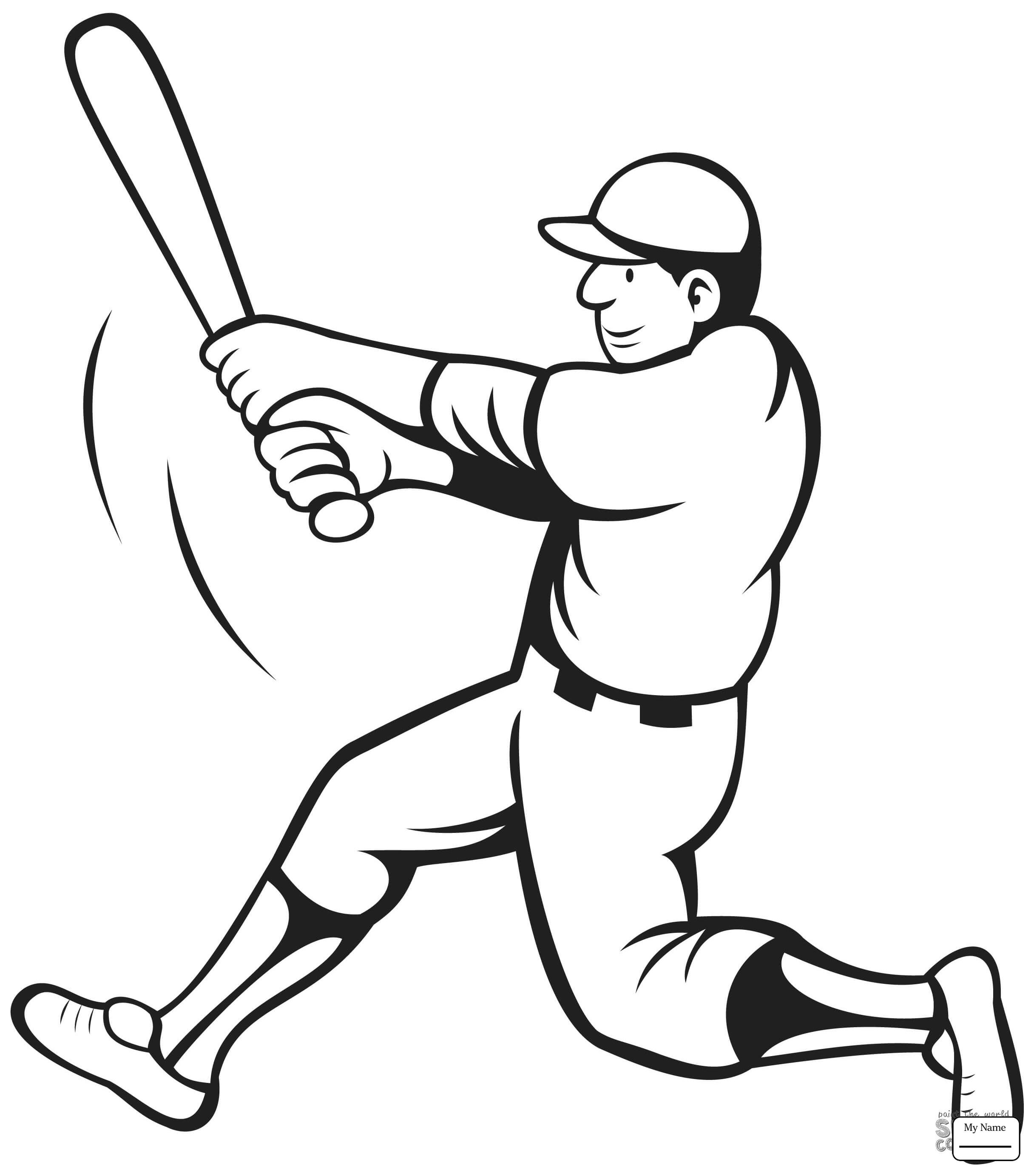 Bat And Ball Drawing At Getdrawings