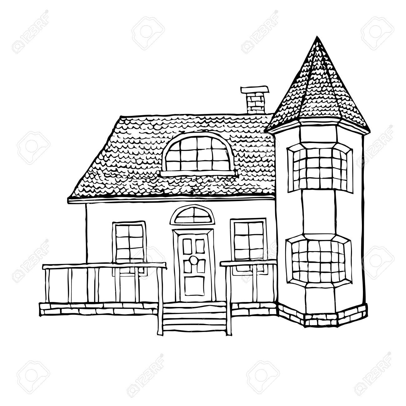 Bay Window Drawing At Getdrawings
