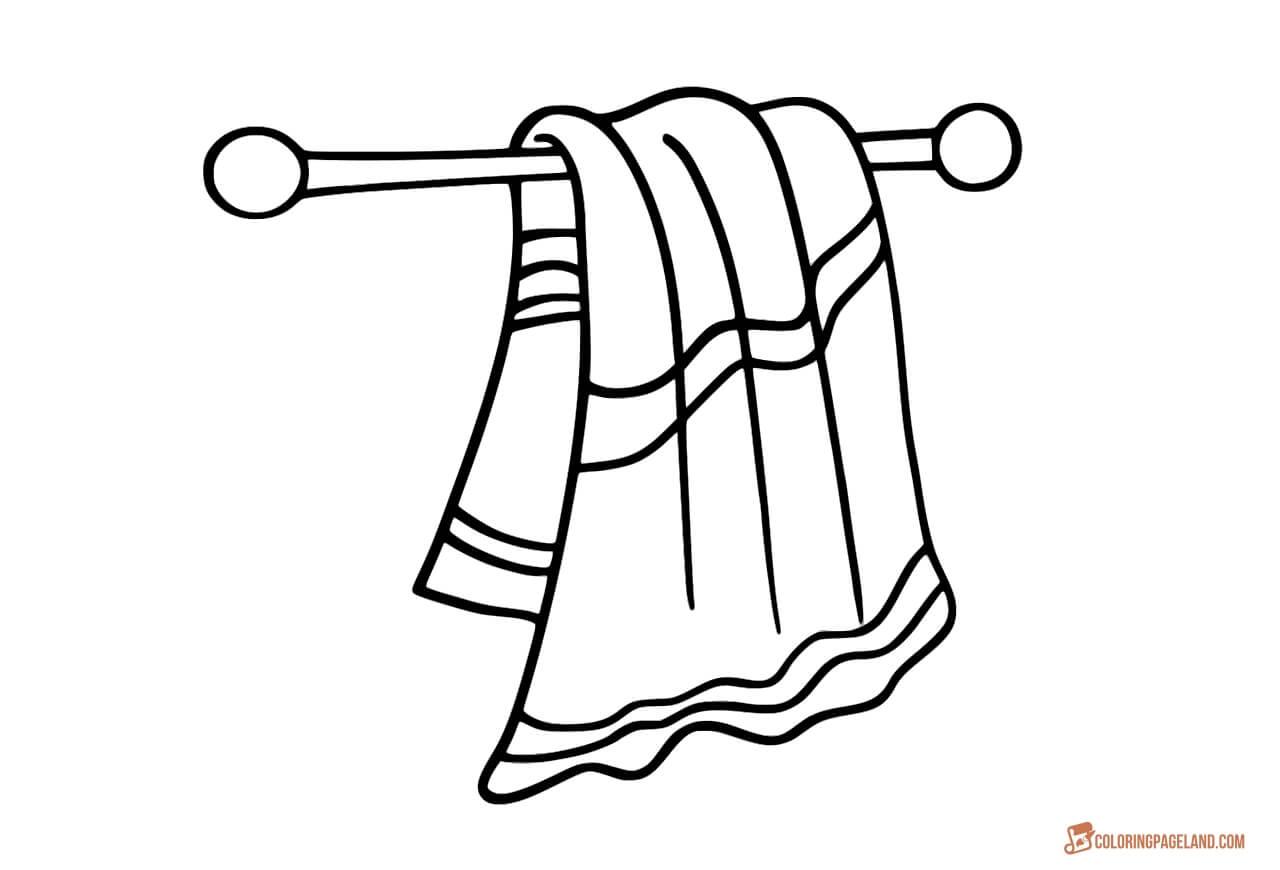 Beach Towel Drawing At Getdrawings