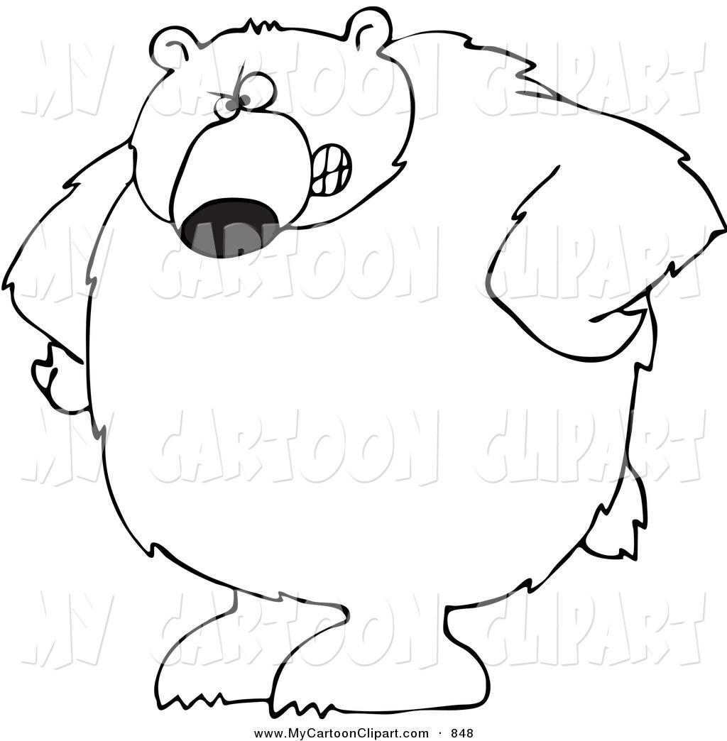 Bear Claw Drawing At Getdrawings