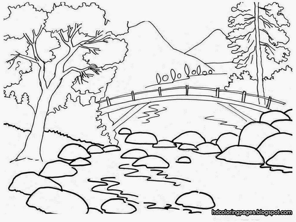 Beautiful Nature Drawing At Getdrawings