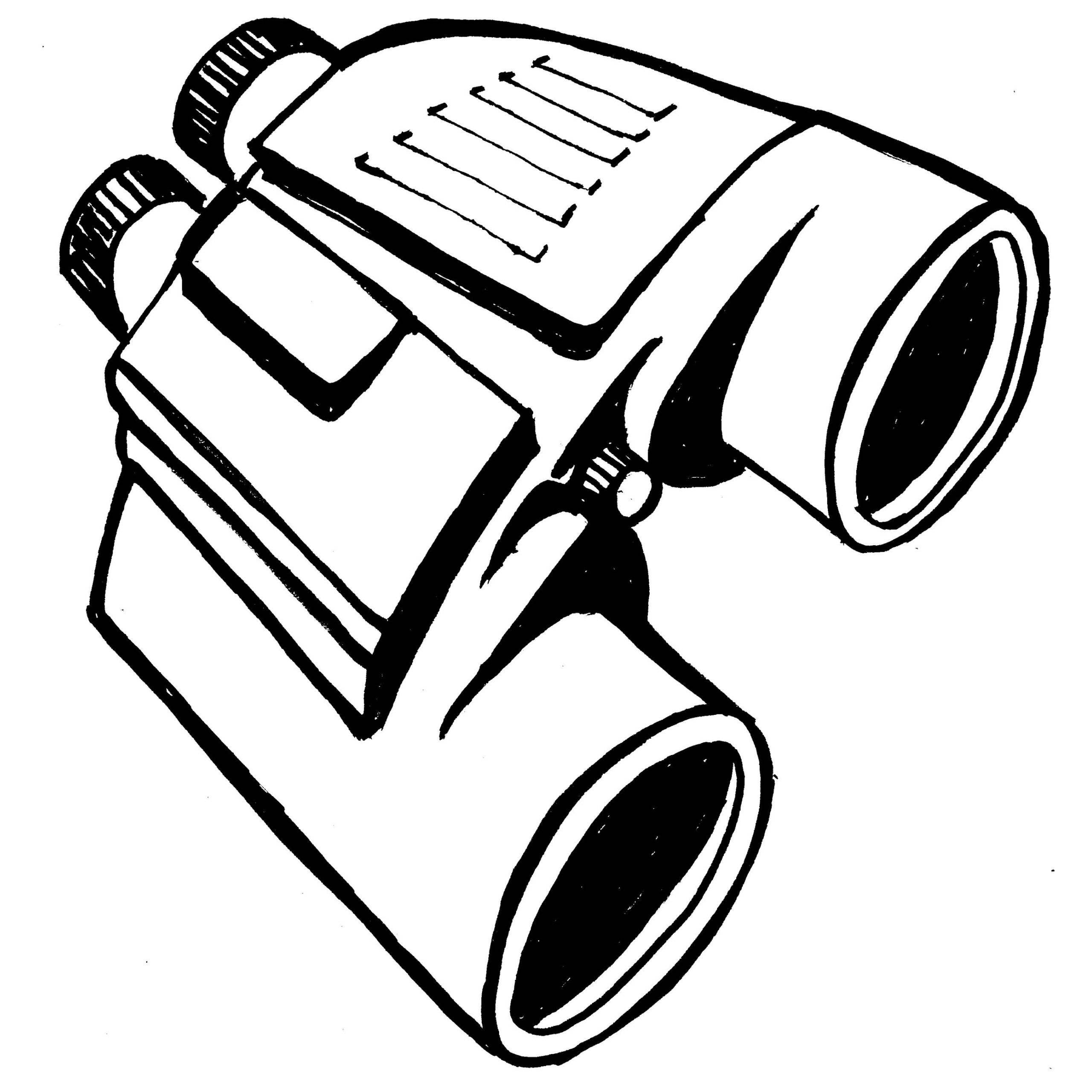 Binocular Drawing At Getdrawings