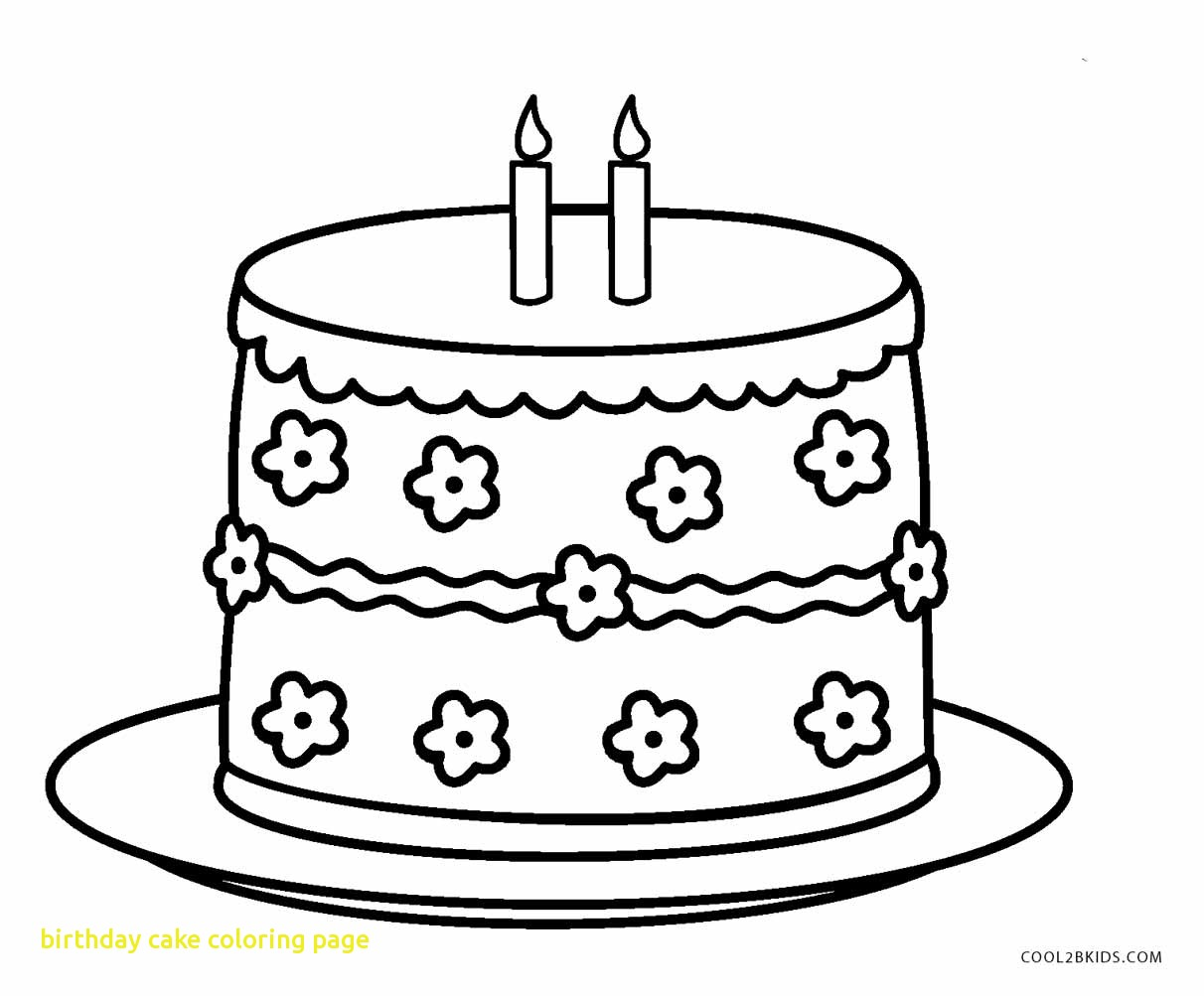 Birthday Cake Drawing Step By Step At Getdrawings