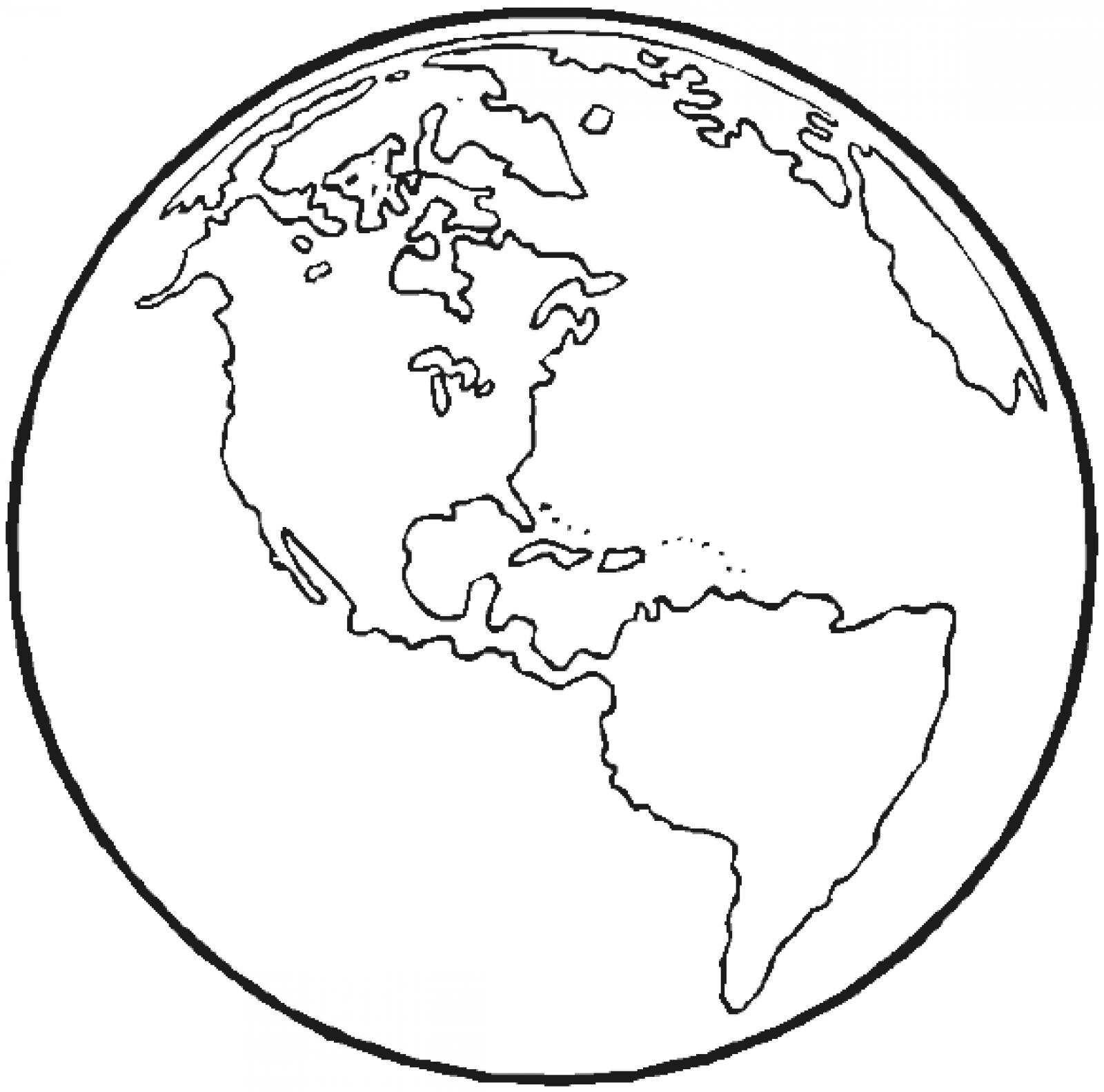 Black And White Earth Drawing At Getdrawings
