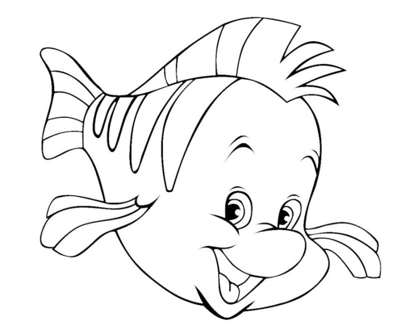 black and white fish drawing at getdrawings  free download
