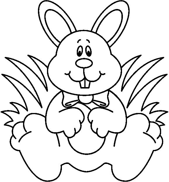 Black And White Rabbit Drawing at GetDrawings | Free download (579 x 625 Pixel)