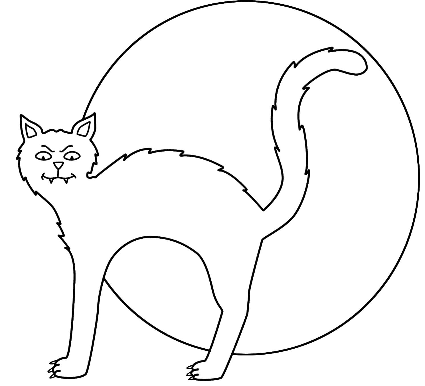 Black Cats Drawing At Getdrawings