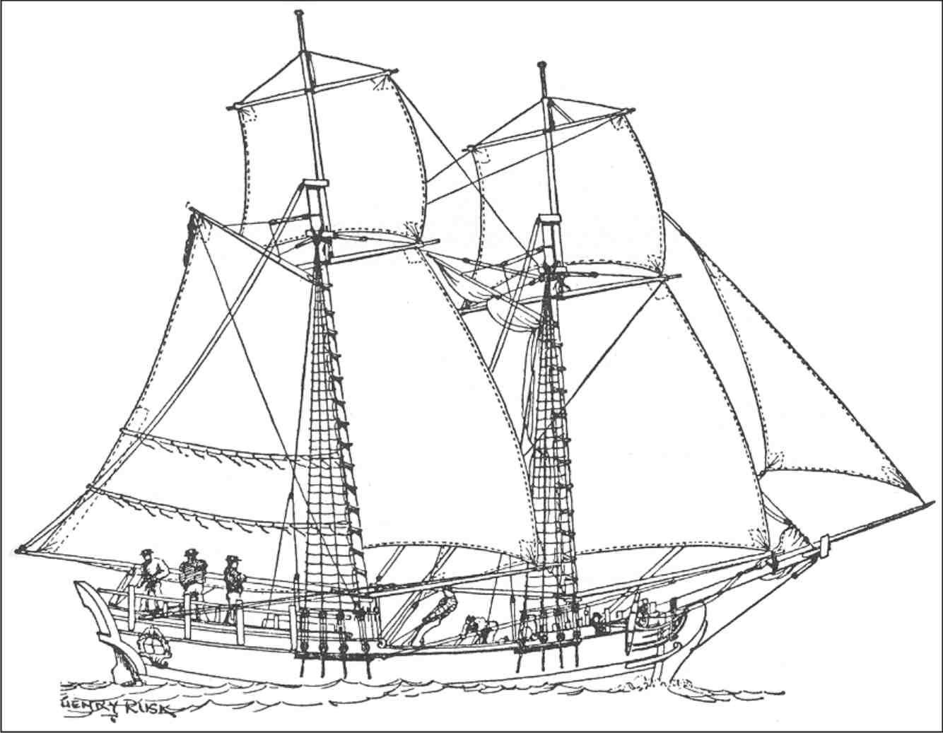 Black Pearl Ship Drawing At Getdrawings