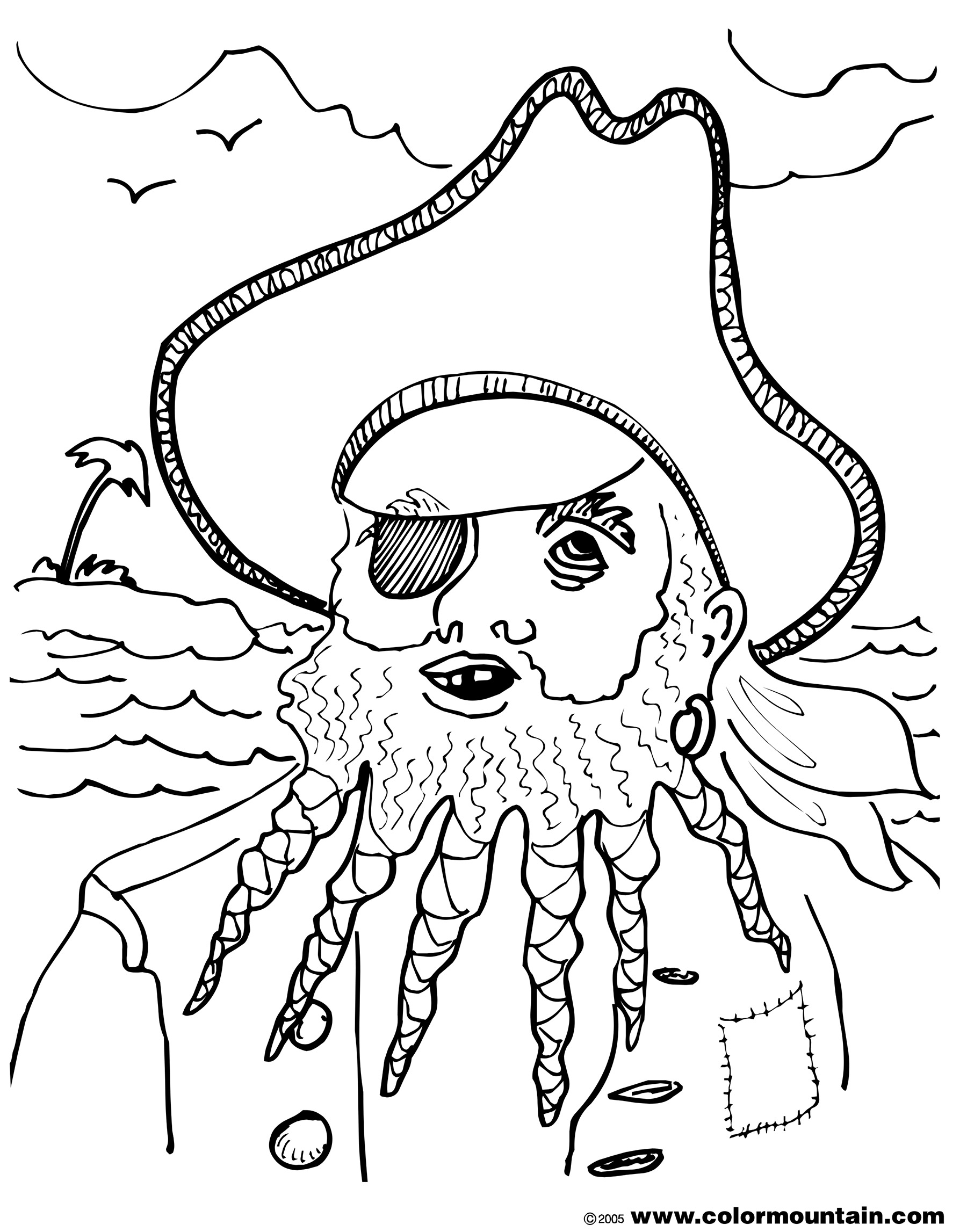 Blackbeard Drawing At Getdrawings
