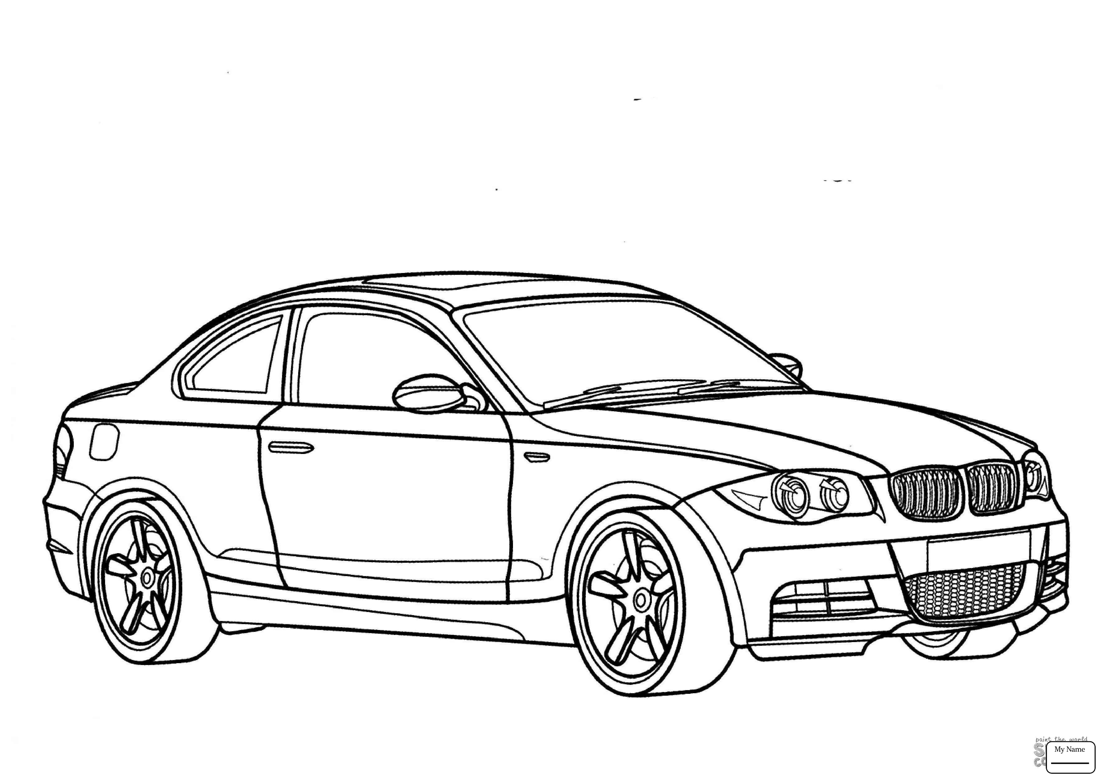 Bmw M3 Drawing At Getdrawings