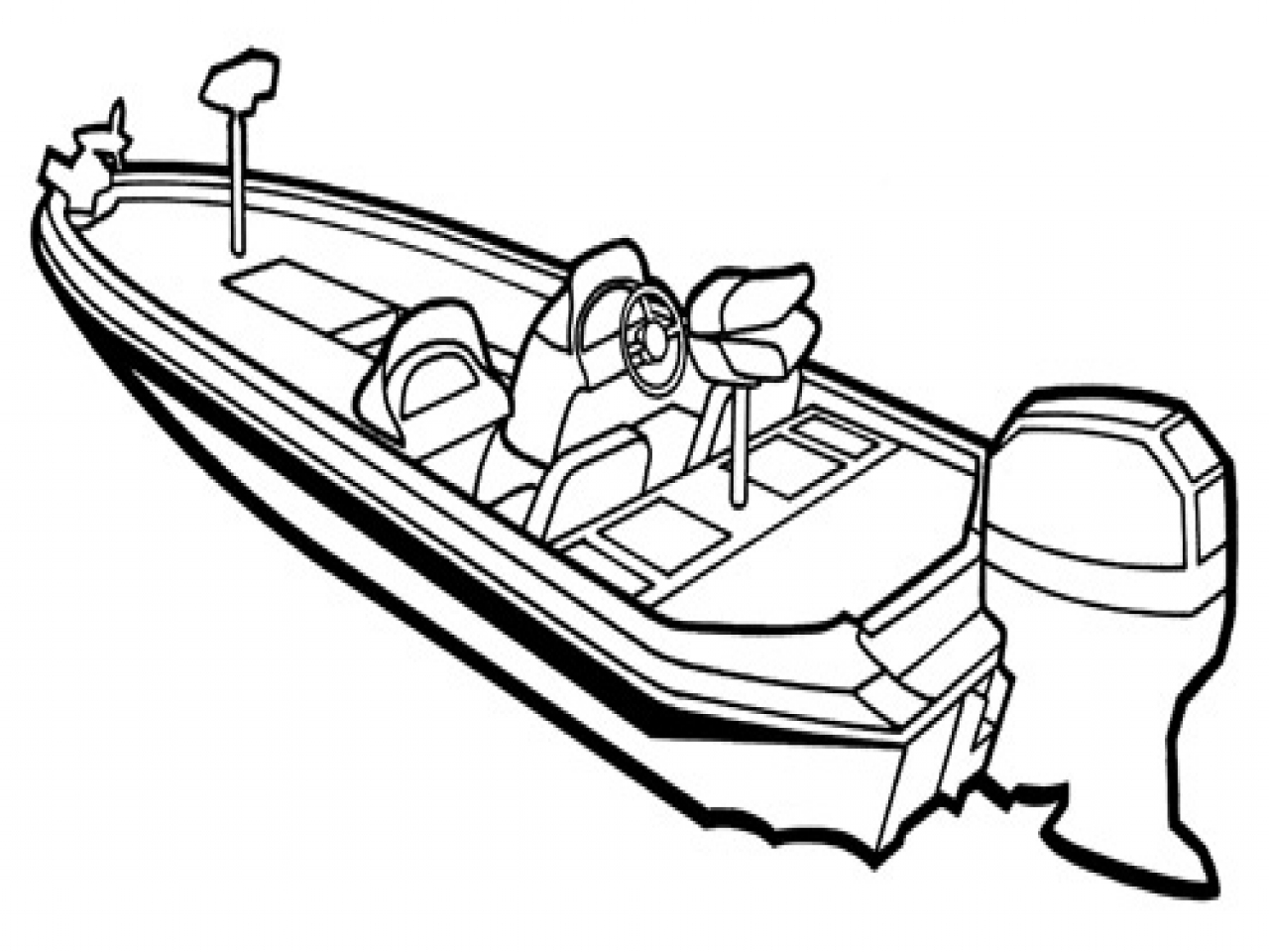 Boat Drawing Images At Getdrawings