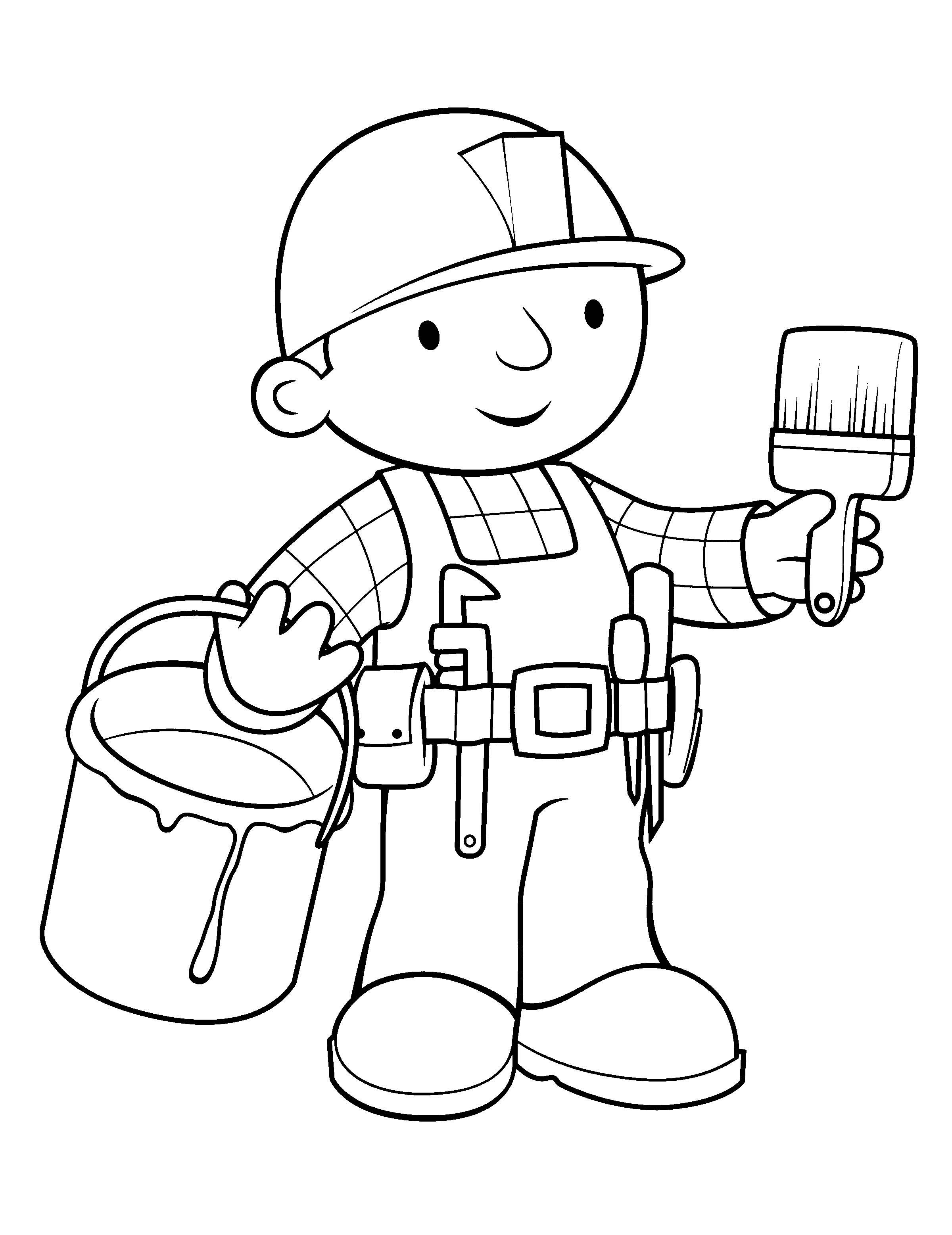 Bob The Builder Drawing At Getdrawings