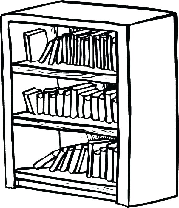 Book Shelf Drawing At Free For Personal