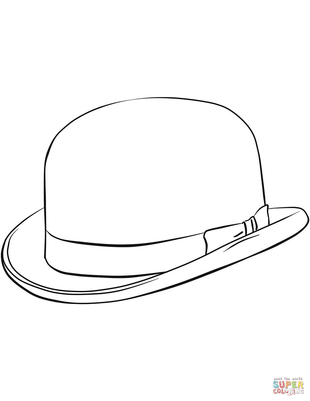 Bowler Hat Drawing At Getdrawings