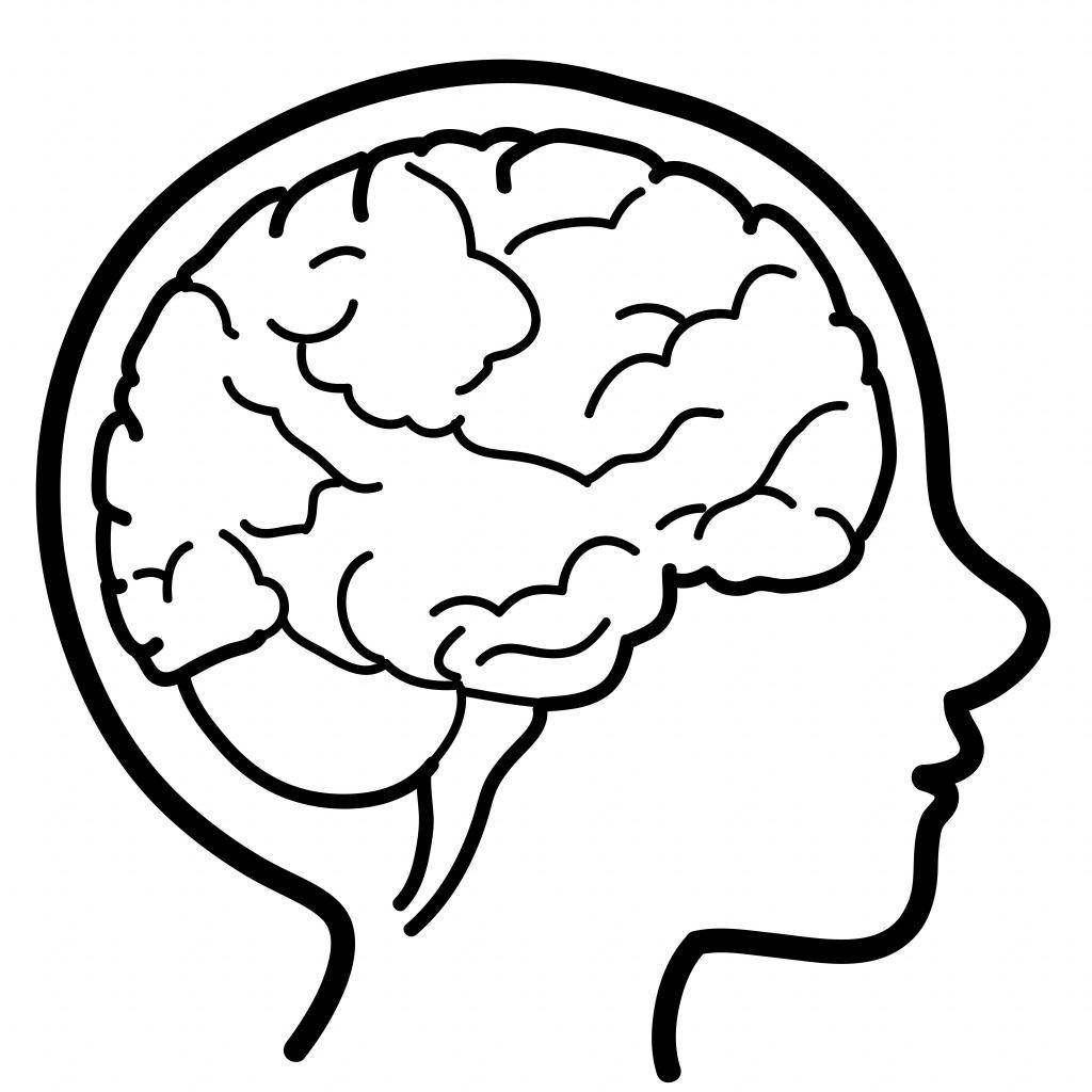 Cartoon Drawing Of A Brain At Getdrawings