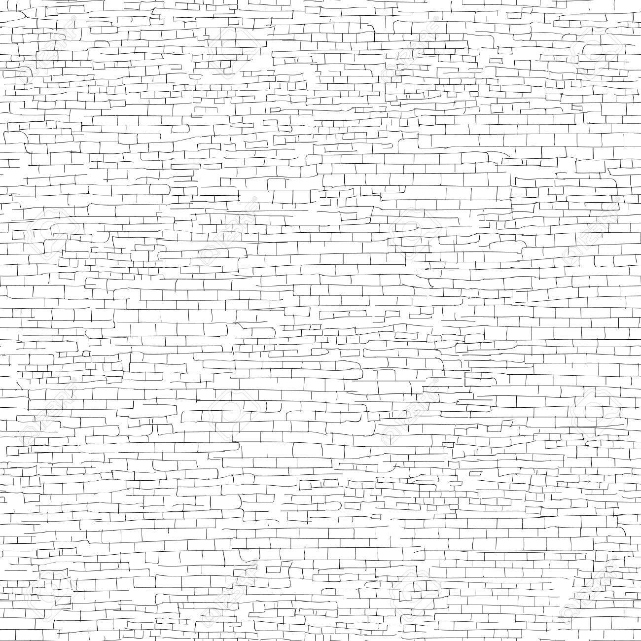 Brick Wall Drawing At Getdrawings