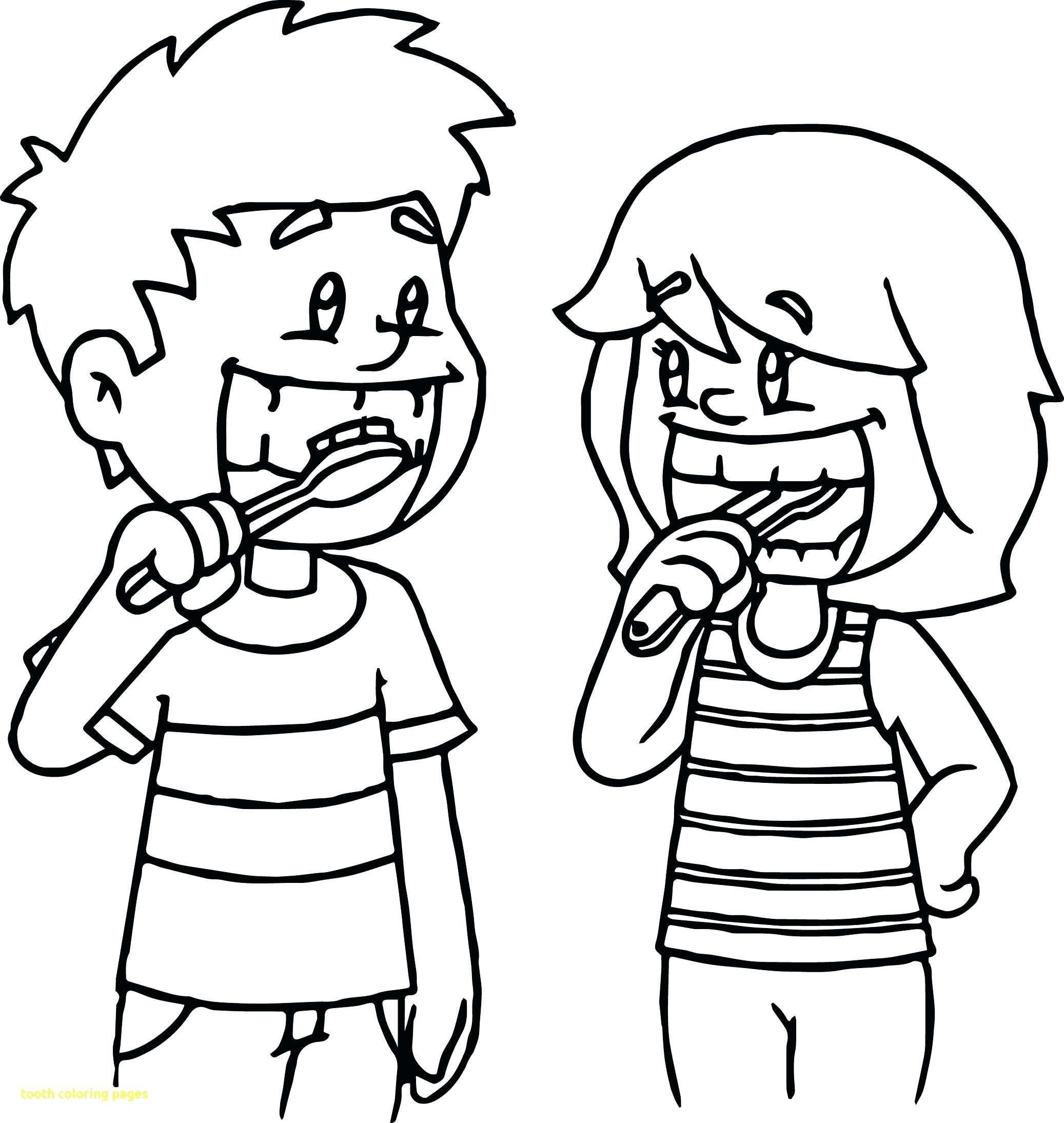 Brush Teeth Drawing At Getdrawings