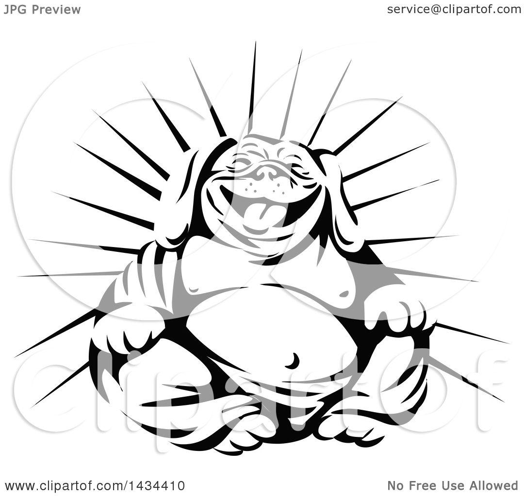 Buddha Cartoon Drawing At Getdrawings