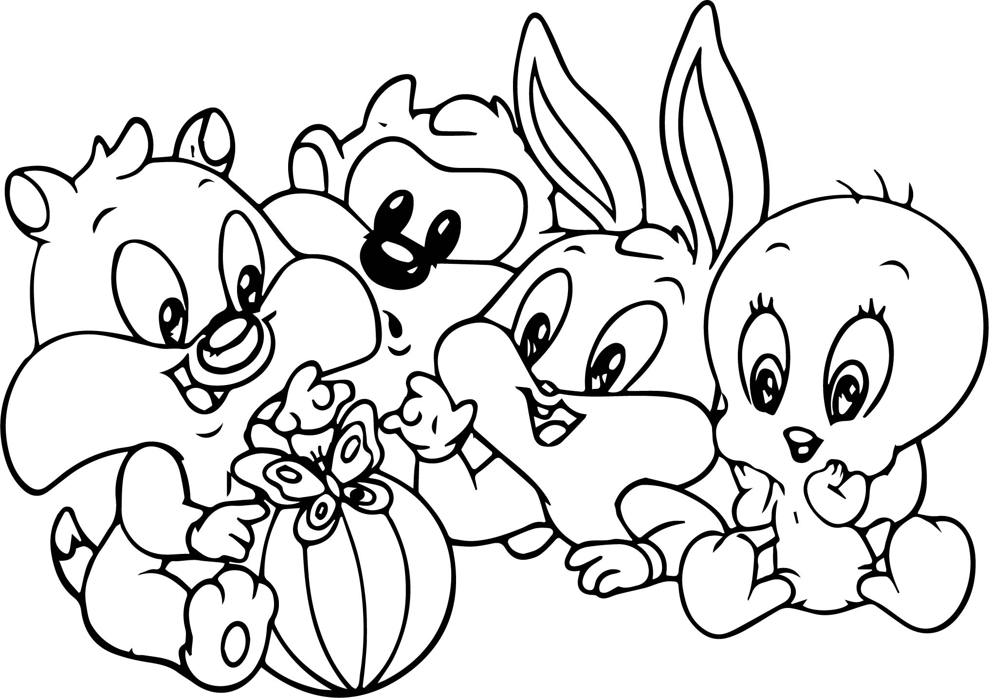 Bugs Bunny Drawing At Getdrawings