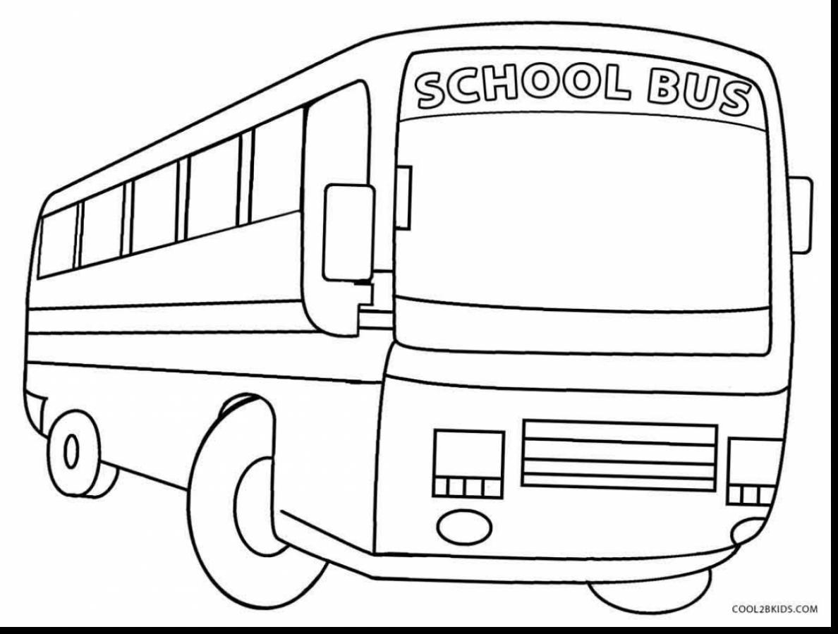 Bus Drawing At Getdrawings