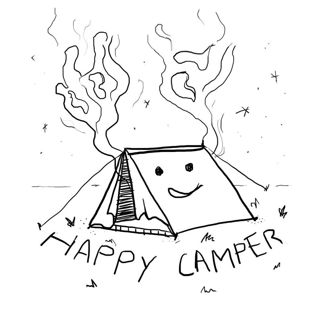 Camper Drawing At Getdrawings