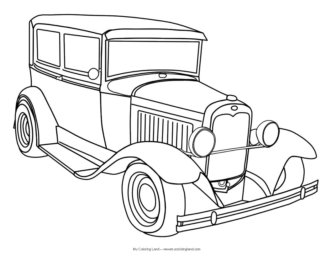 Car Pencil Sketch Drawing At Getdrawings