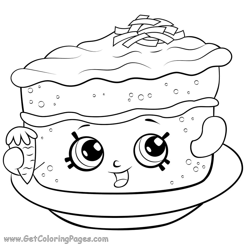 Carrot Cake Drawing At Getdrawings