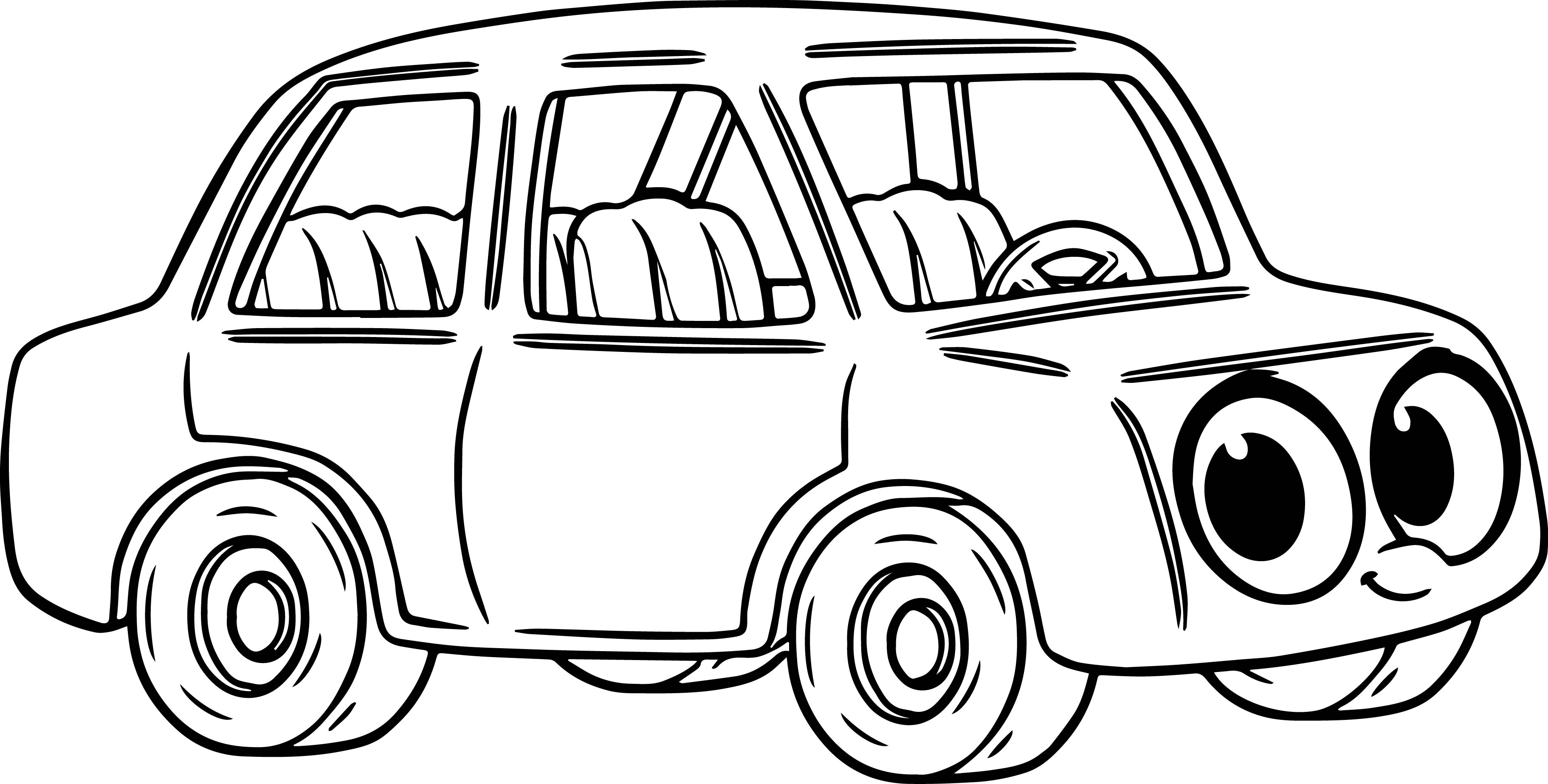 Cartoon drawing car at getdrawings free for personal use