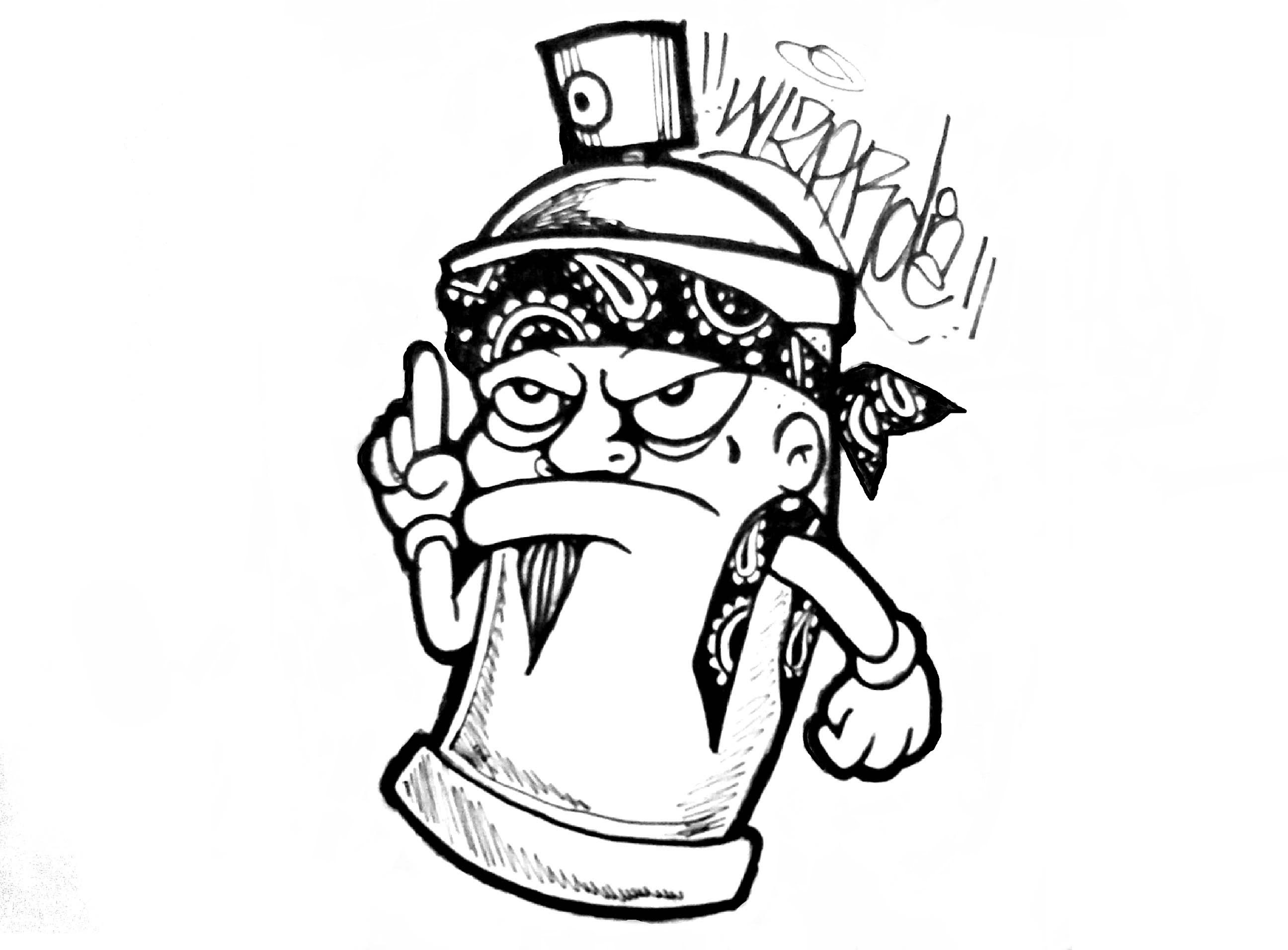 Cartoon Gangster Drawing At Getdrawings
