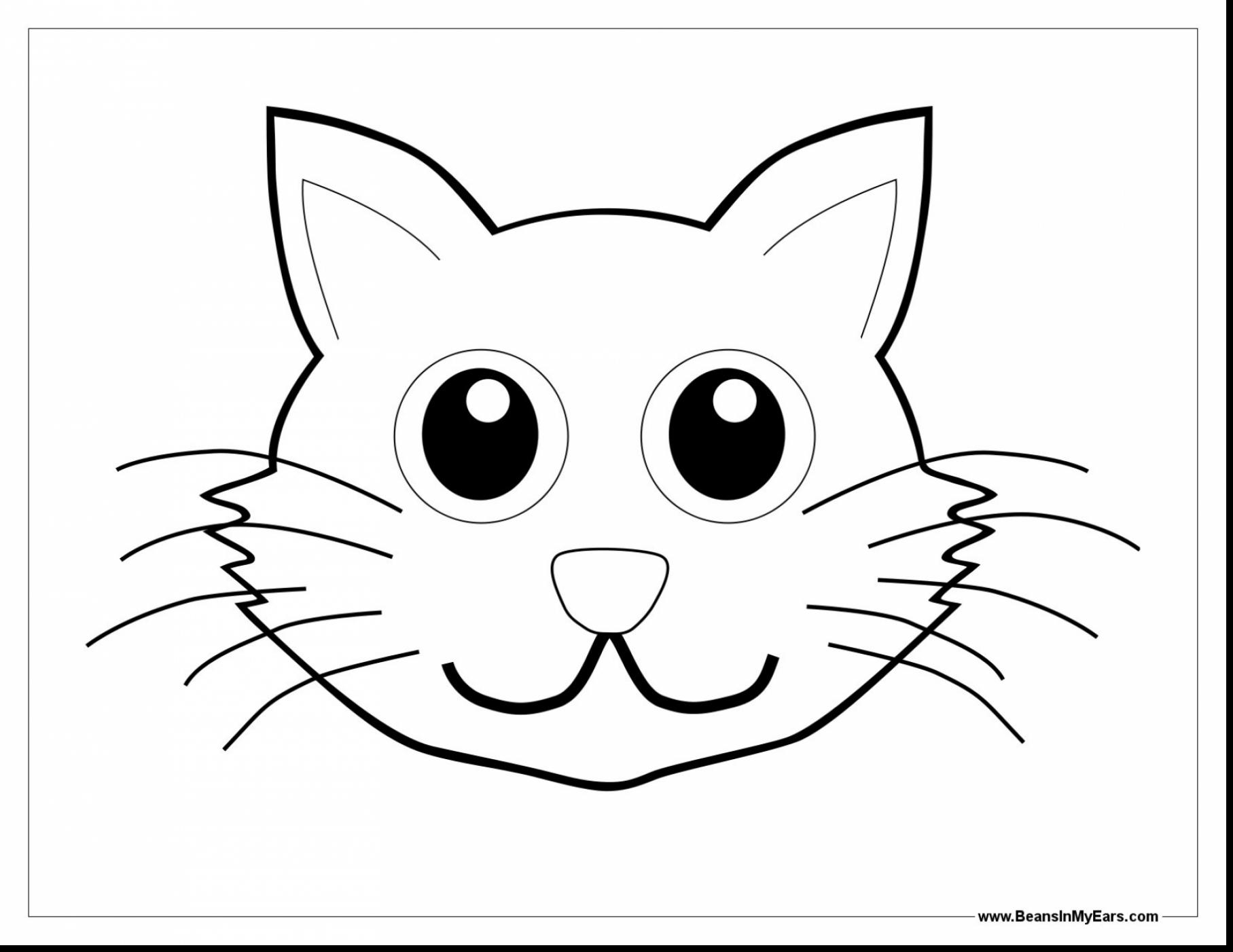 Cat Drawing Templates At Getdrawings