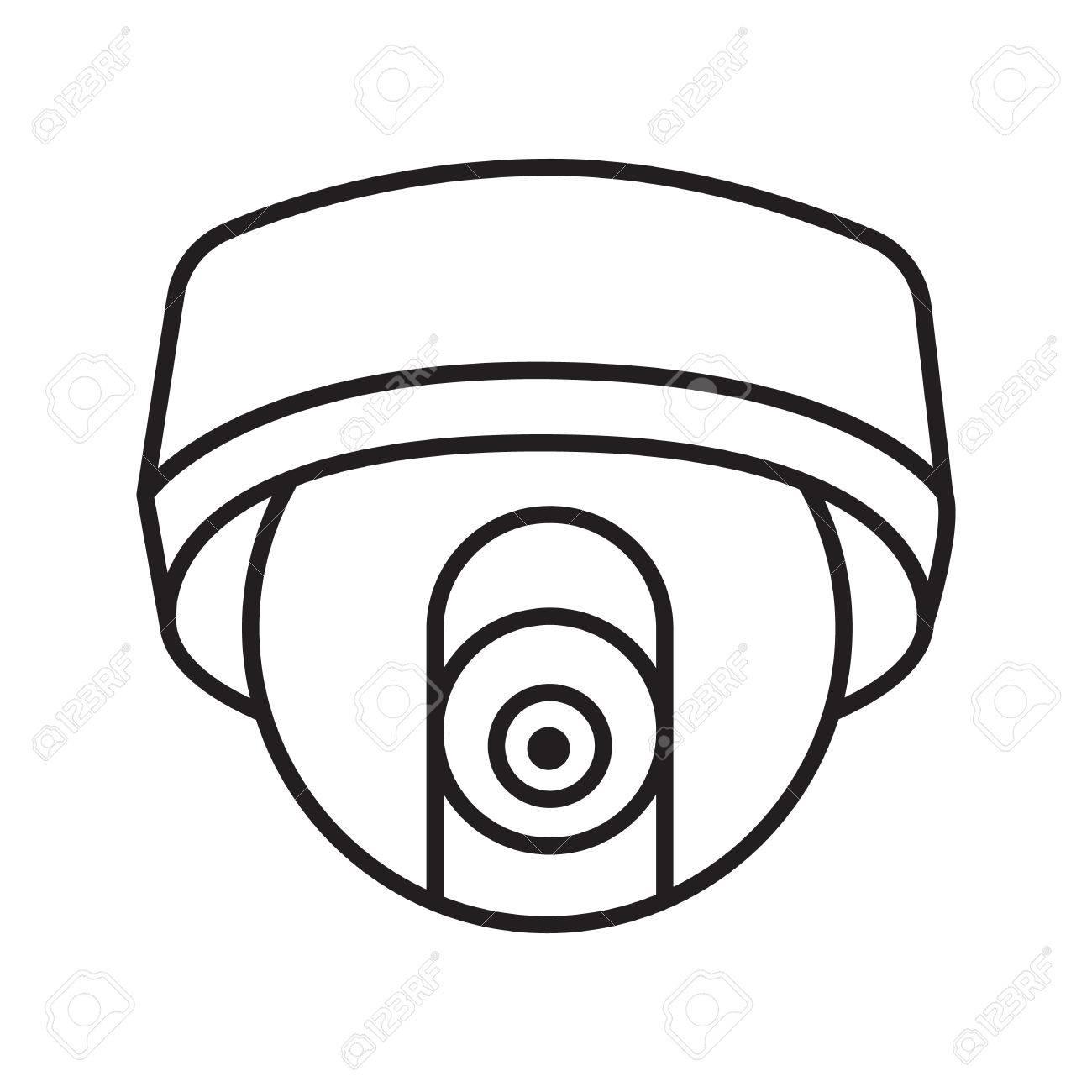 Cctv Camera Drawing At Getdrawings