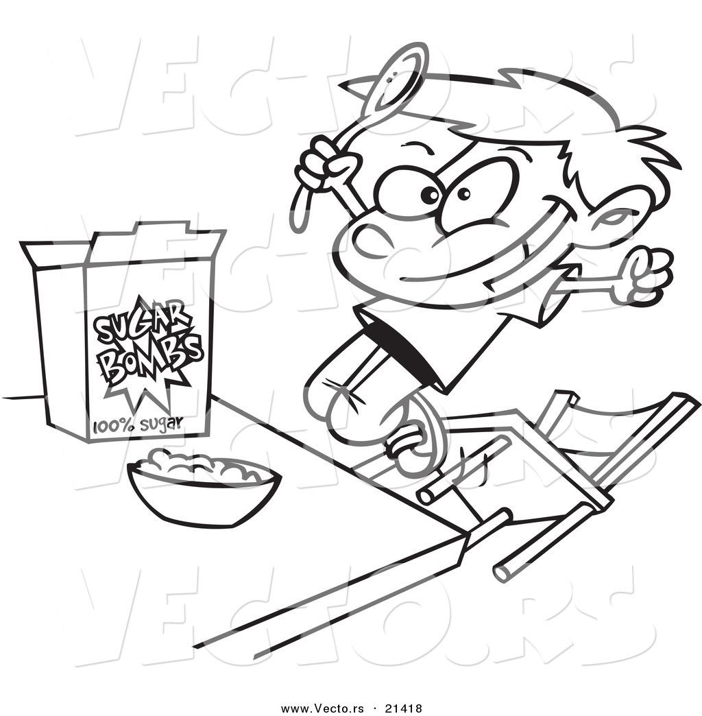 Cereal Drawing At Getdrawings