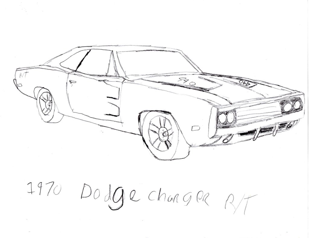 Charger Drawing At Getdrawings