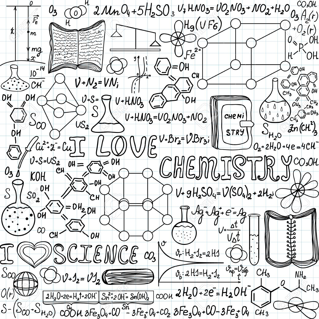 Chemistry Drawing At Getdrawings